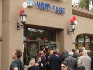 Vom Fass Grand Opening